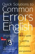 کتاب Quick Solutions to Common Errors in English